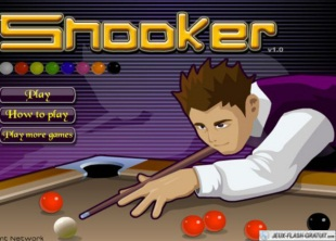 Jeu de billard snooker
