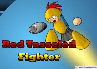 Red Tassled Fighter