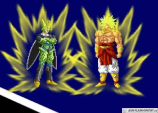 Cell contre broly